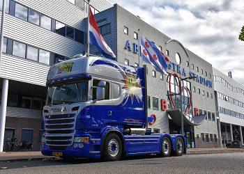 Happy Smile Scania bij SC Heerenveen