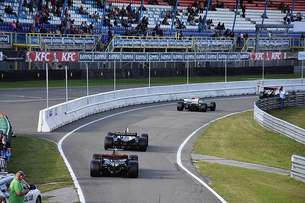 Formule 1 demo met Nico Hülkenberg