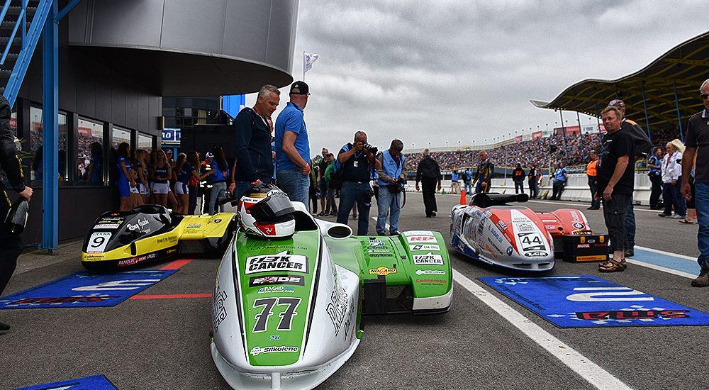 Opnieuw FIM Sidecar Grand Prix tijdens Gamma Racing Day