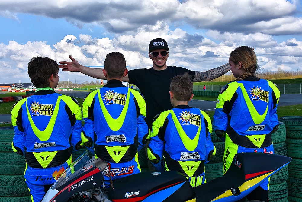 MotoGP ster te gast bij Team 4 Holland Racing