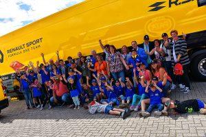 Bezoek aan Renaullt F1 Team - Gamma Racing Day 2017