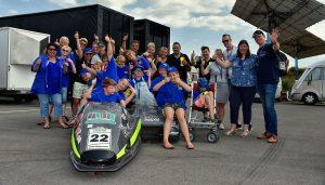 Zijspan Team Talens groepsfoto Stichting Happy Smile