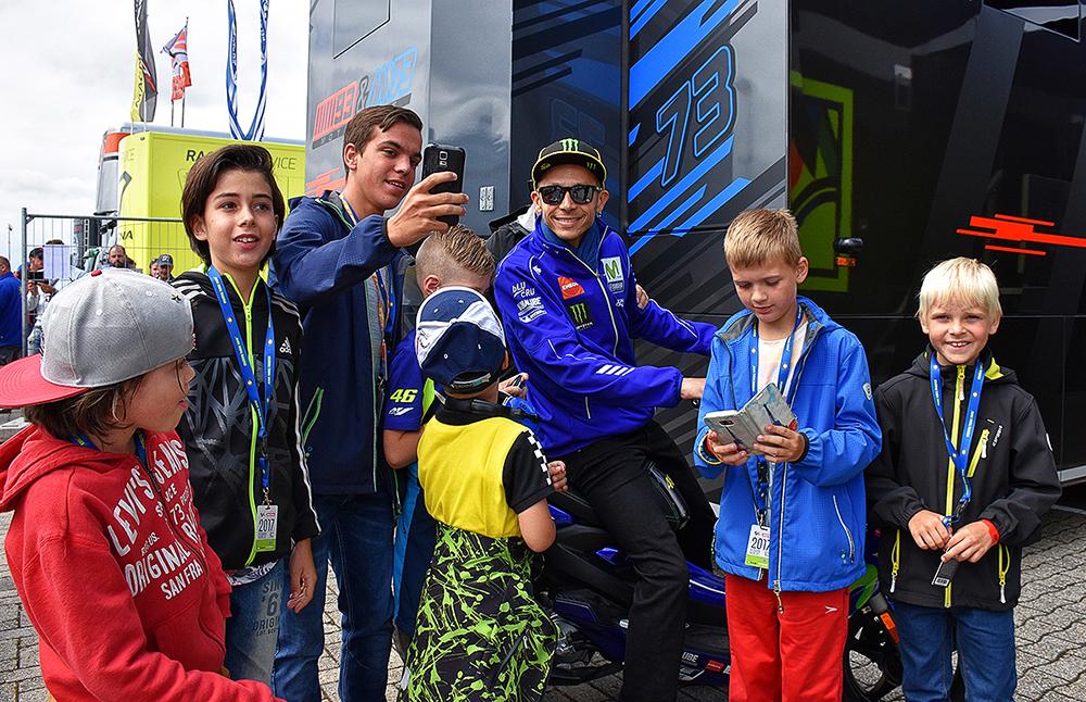 Komt Valentino Rossi naar de DTM in Assen?